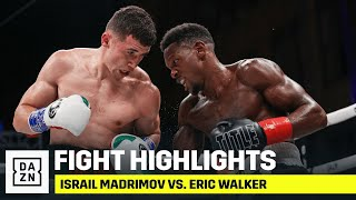 HIGHLIGHTS | Israil Madrimov vs. Eric Walker
