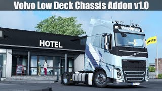 ✅ ETS2 1.31 -  Low Deck Chassis Addon v1.0 for Volvo FH by Eugene