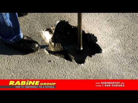How to Fix a Pothole Tutorial (Asphalt Repair)