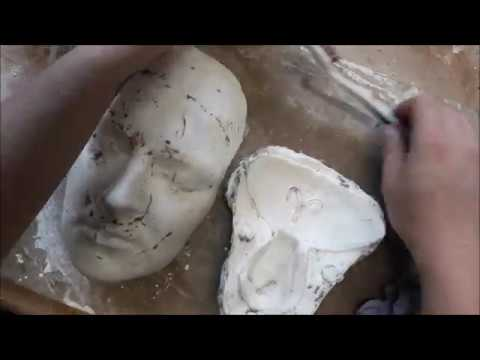 HOW TO MAKE A TWO PART EASYFLO MOULD (for prosthetics)