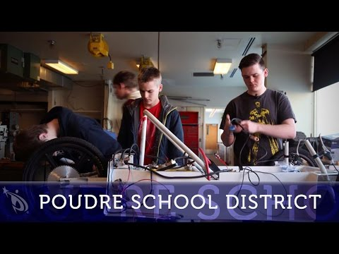 Fort Collins High School Students Build Electric Vehicle