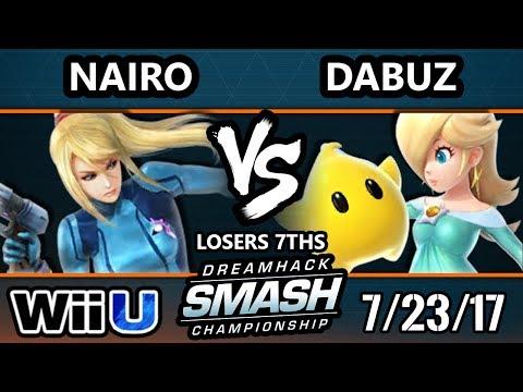 DHATL 17 Wii U - NRG | Nairo (ZSS) Vs. RNG | Dabuz (Rosalina) - SSB4 Singles L7th