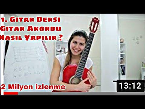 Gitar Dersi 1 I Gitar Akordu Nasıl Yapılır ?