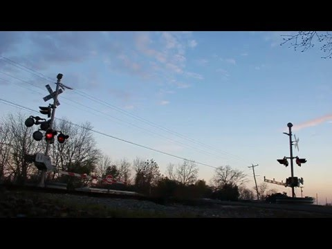Freight Train passing by at Natchez, Louisiana