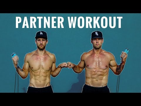 Jump Rope Cardio Workout (with a partner) | Zen Dude Fitness