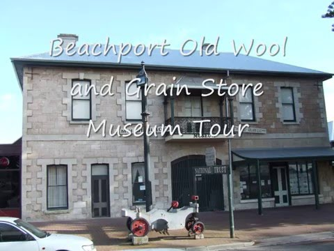 Beachport Old Wool and Grain Store Museum Tour south australia