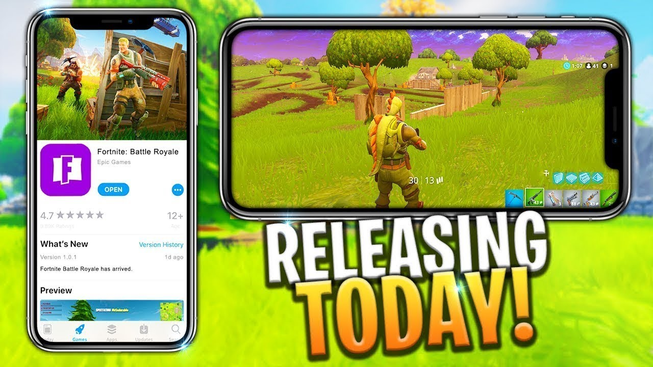 Fortnite Mobile Release How To Get A Code Ios Android Fortnite