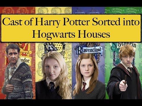 Cast Of Harry Potter Get Sorted Into Hogwarts Houses