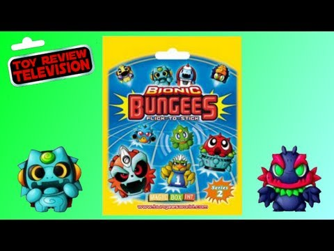 Bionic Bungees Series 2 Blind Bag Review Opening