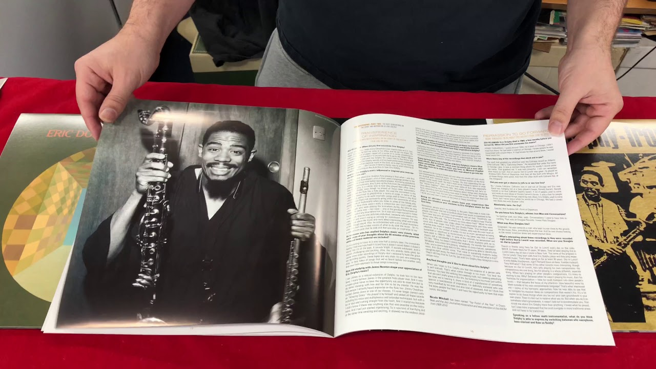 ERIC DOLPHY - Musical Prophet Unboxing Record Store Day 2018 Black Friday RSD