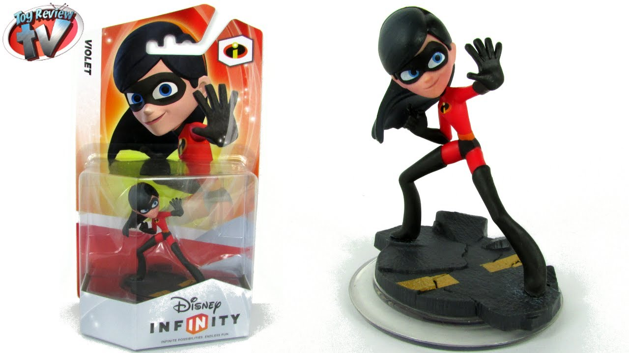 Disney Infinity Incredibles Violet Figure Toy Review - YouTube