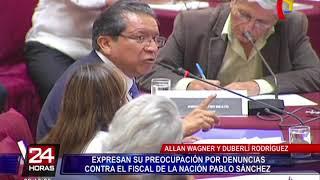 Allan Wagner y Duberlí Rodríguez se pronuncian por denuncias contra Sánchez