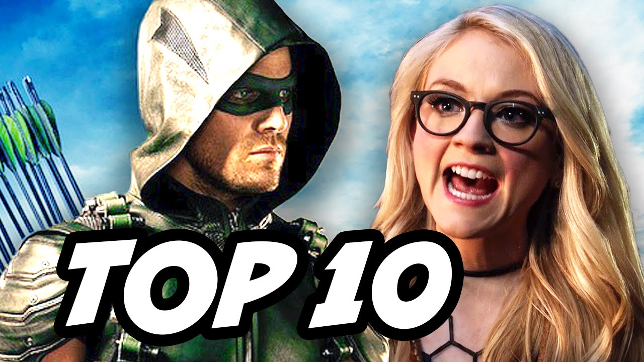 Arrow Season 4 Episode 17 - TOP 10 WTF and Easter Eggs