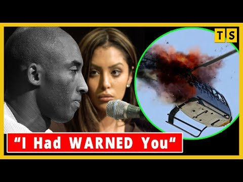 Kobe Bryant's Wife Vanessa WARNED Him Not To Be On The Helicopter BEFORE Crash