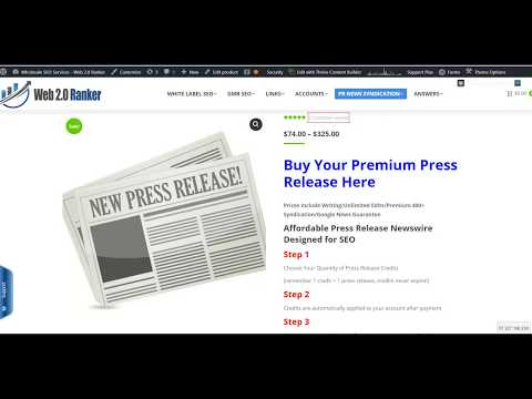 Press Release Service Overview