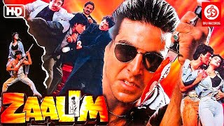 Zaalim- Hindi Full Movie | Akshay Kumar Action Movies | Madhoo | Mohan Joshi | Bollywood Action Film