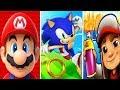 Super Mario Run vs Sonic Dash vs Subway Surfers