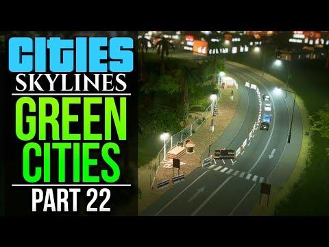 Cities: Skylines Green Cities | PART 22 | CONSTRUCTION SITE