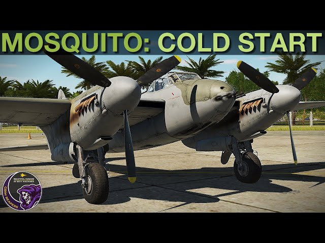 Mosquito FB MkVI: Cold Start Procedure Tutorial   DCS WORLD