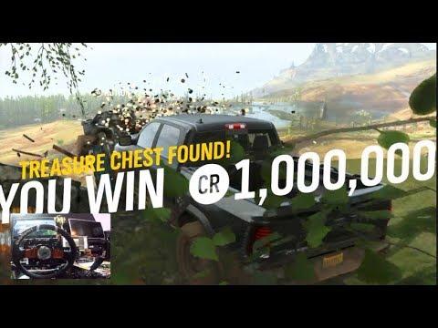 FH4 Fortune Island -How To Unlock Treasure Chest Location #2 + Reward Car !! | (Fanatec Wheel)