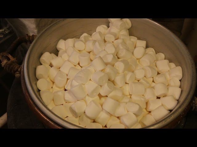How We Make Our Marshmallow Eggs