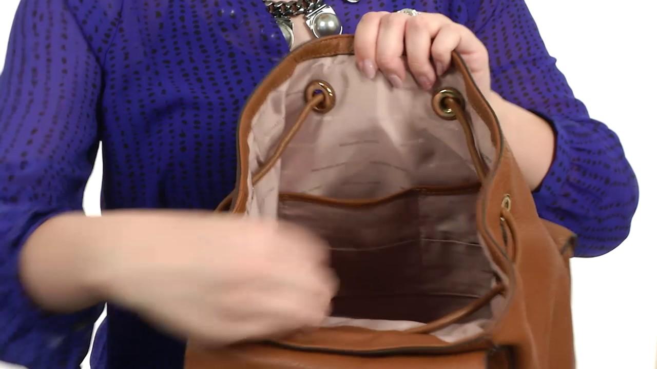 17155a9b09756d MICHAEL Michael Kors Cooper Large Flap Backpack SKU:8899516 - YouTube