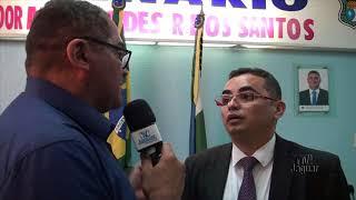 Vereador Fagner Brito faz reclamação na tribuna sobre animais soltos nas ruas de Quixeré