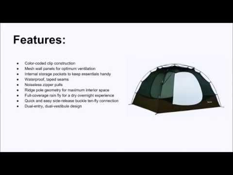 Slumberjack 4 Person Trail Tent Review  sc 1 st  YouTube & Slumberjack 4 Person Trail Tent Review - YouTube