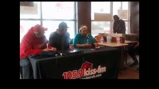 BRIAN J  WHITE INTERVIEW WITH 105 9  COCO & TUNE UP MAN AT TIM HORTONS WITH MUSIC