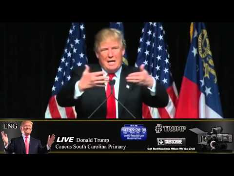 LIVE Donald Trump Rally Georgia World Congress Center Atlanta FULL SPEECH HD February 21 2