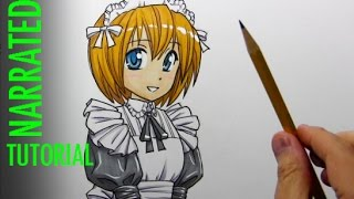 How to Draw a Manga-Style Maid