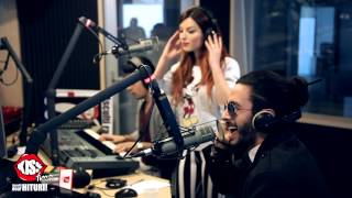 Elena Gheorghe &amp Glance - Ecou live la Kiss FM