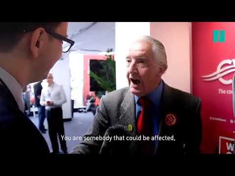 Dennis Skinner schools a journalist