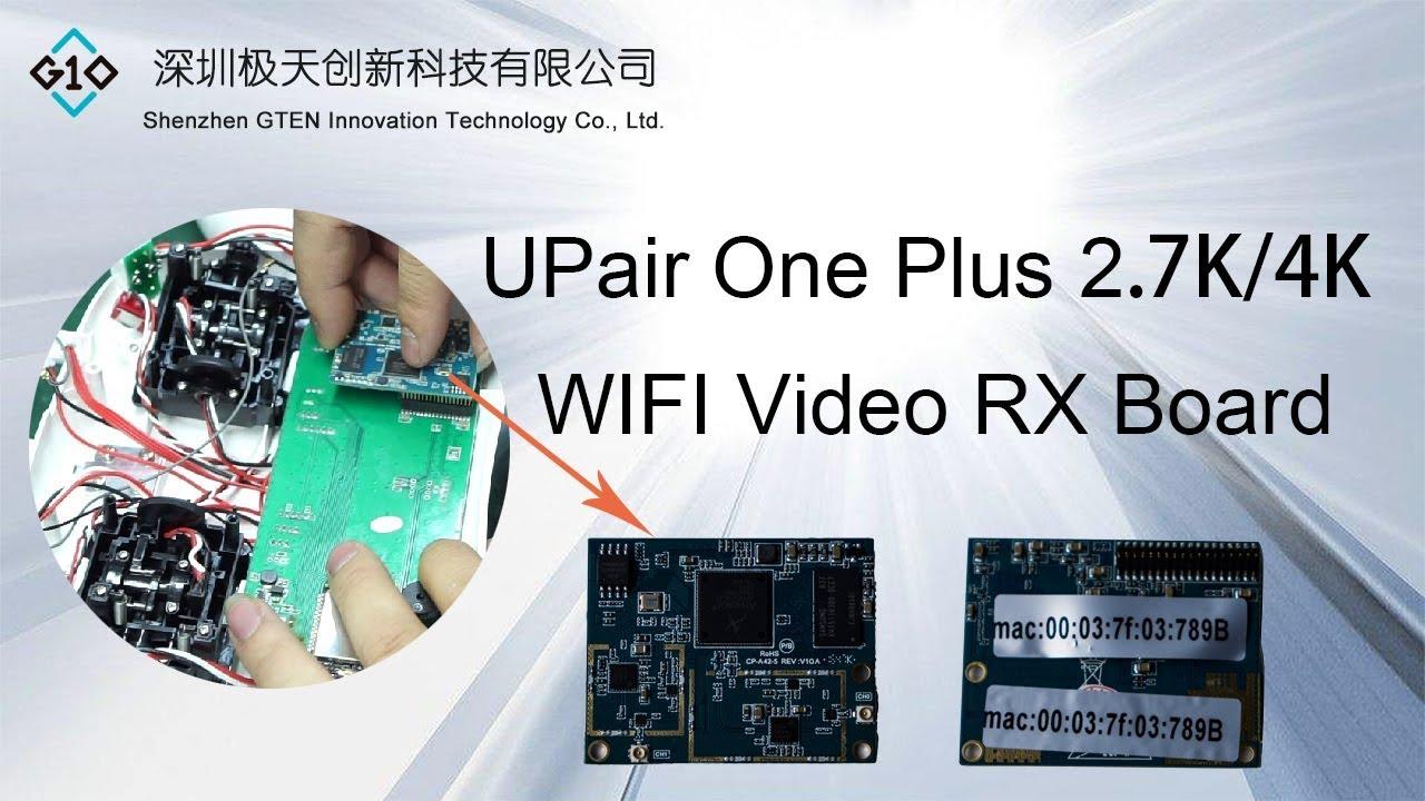 c8b4150c2e UPair One Plus Version WIFI Video RX board Fix - YouTube