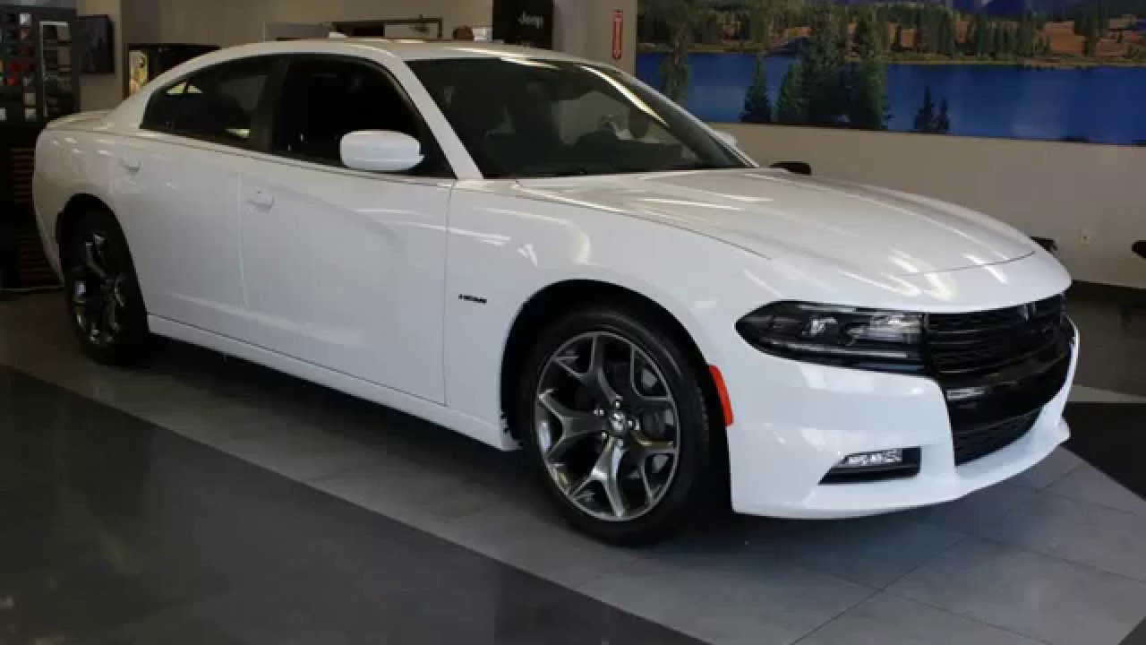 2017 Dodge Charger Rt White >> New 2016 Dodge Charger Bright White Youtube