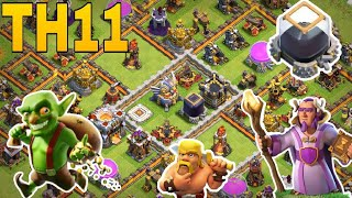 th11 farming base 2018 /trophy base /coc th11 base 2018 /clash of clan