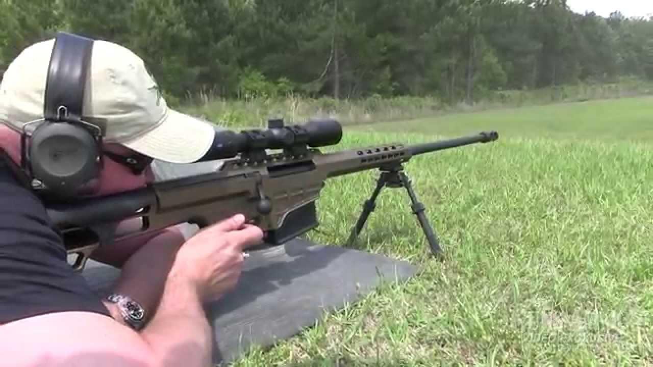 First Look Barrett 98b Fieldcraft Rifle Youtube