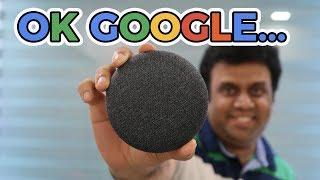Google Home Mini India Unboxing & Setup