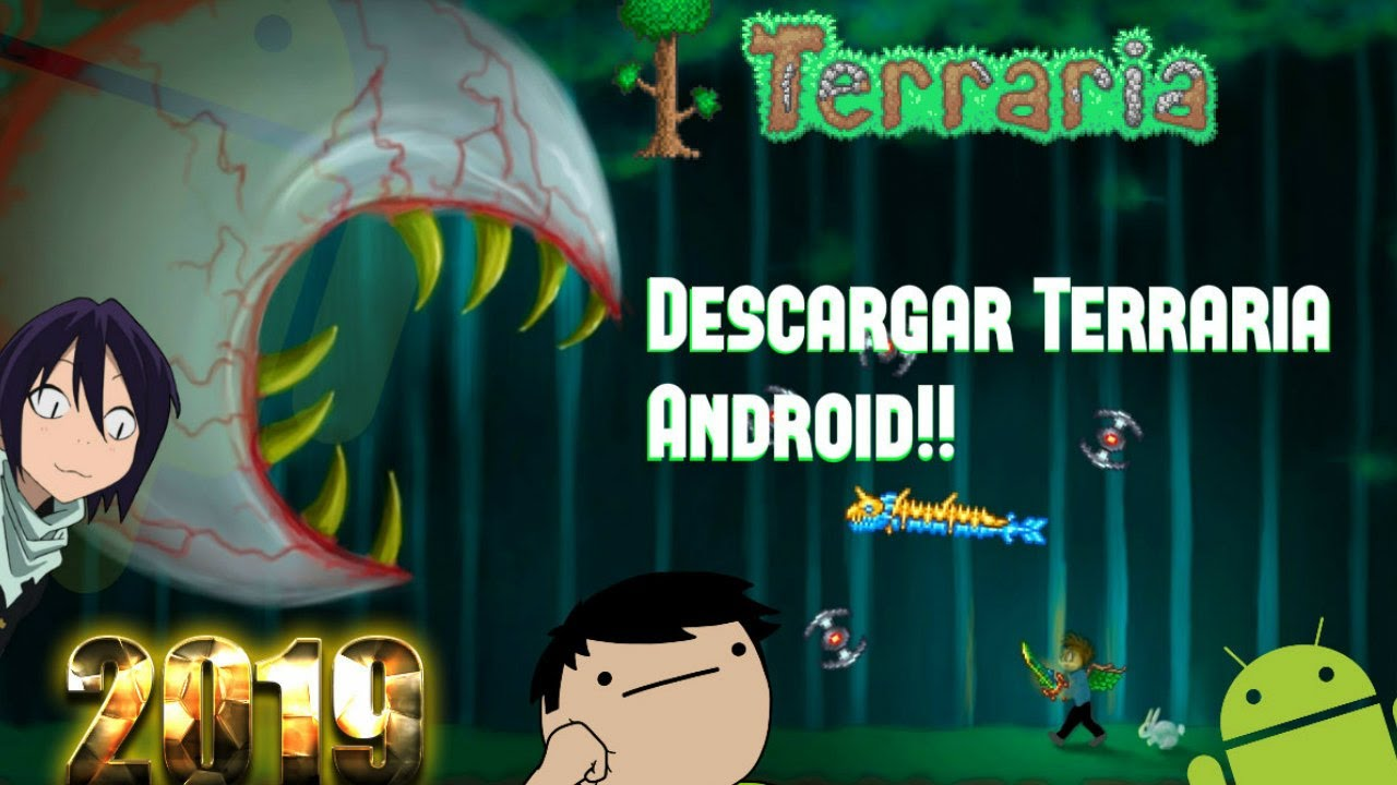Descargar Terraria Android Version 1 2 12785 Apk Obb 2018 Youtube