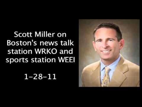 Scott Miller On Boston Radio Stations WRKO And WEEI