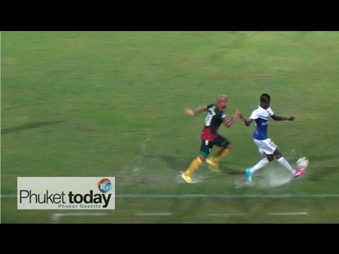 UD Almeria vs Phuket FC at Surakul Stadium