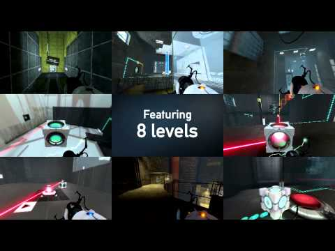 "Portal 2 ""Designed for Danger"" Unofficial Map Pack Trailer"