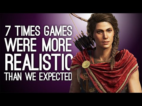 7 Times Games Were More Realistic Than We Were Expecting