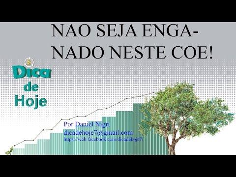 DICA DE HOJE - Não Seja Enganado neste COE!!