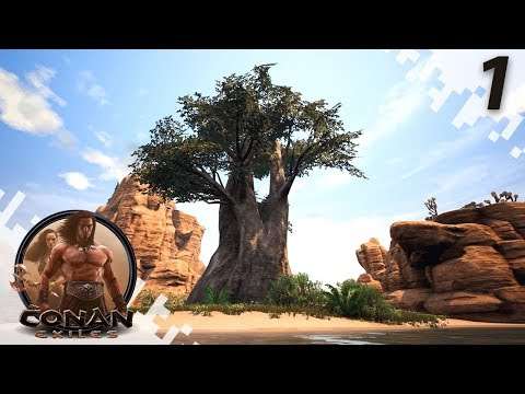CONAN EXILES: THE FROZEN NORTH - The Start Of Our Journey - EP01