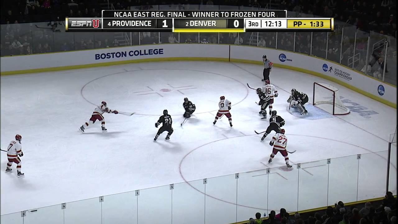 Ncaa Men S Ice Hockey Pc Friars Vs Denver Game Highlights Youtube