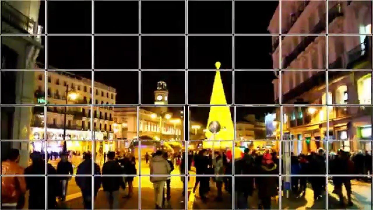 Madrid puerta del sol nochevieja 2015 2016 youtube for Puerta del sol en nochevieja