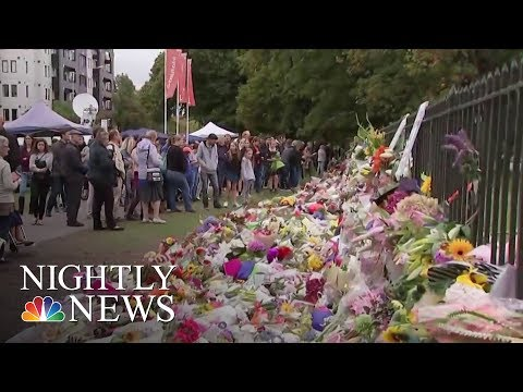 New Zealand Mourns Terror Attack Victims As Death Toll Rises To 50 | NBC Nightly News