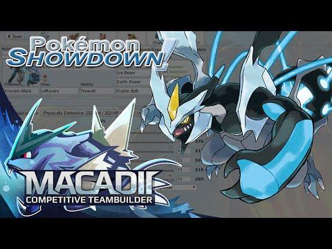 Kyurem-Black Team Builder! - Pokemon Showdown OU Team Building W. Macadii (Smogon ORAS OU)