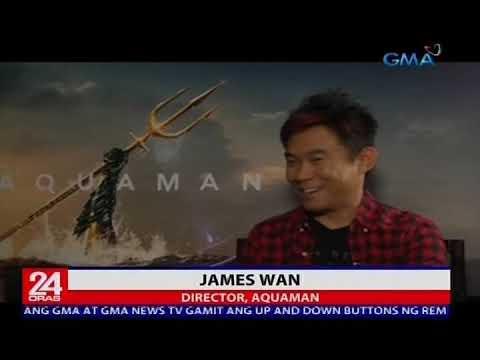 """""""Aquaman"""" stars Jason Momoa, Amber Heard at Director James Wan, nasa Pilipinas"""